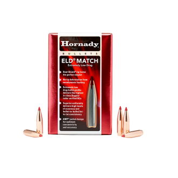 POCISKI HORNADY 6,5mm ELD-M 123gr 100szt #26176