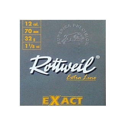 AMUNICJA ŚRUTOWA 12/70 ROTTWEIL EXACT 32G